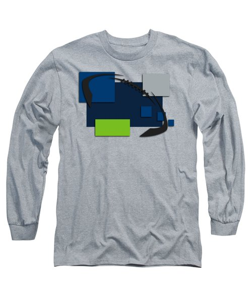 Seattle Seahawks Abstract Shirt Long Sleeve T-Shirt