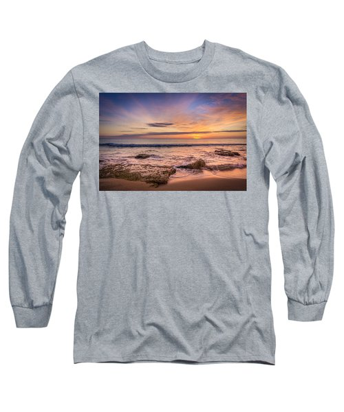 Seaview Sunrise. Long Sleeve T-Shirt