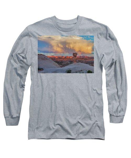 Secret Spire Sunset 2 Long Sleeve T-Shirt
