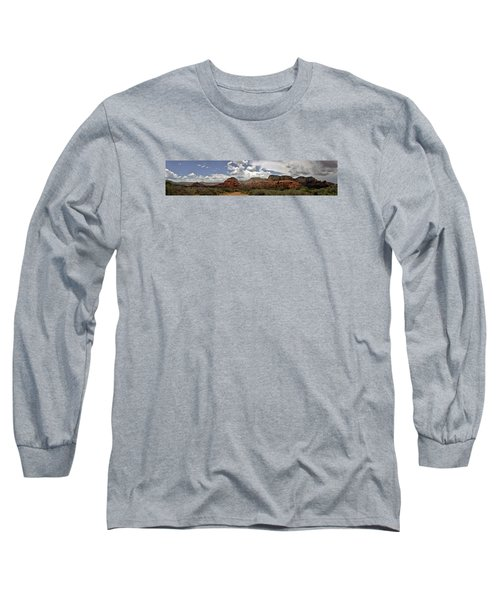 Long Sleeve T-Shirt featuring the photograph Sedona Az by Elaine Malott