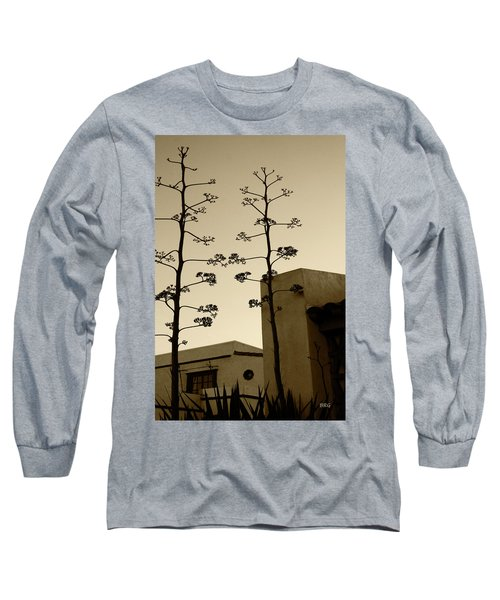 Long Sleeve T-Shirt featuring the photograph Sedona Series - Desert City by Ben and Raisa Gertsberg