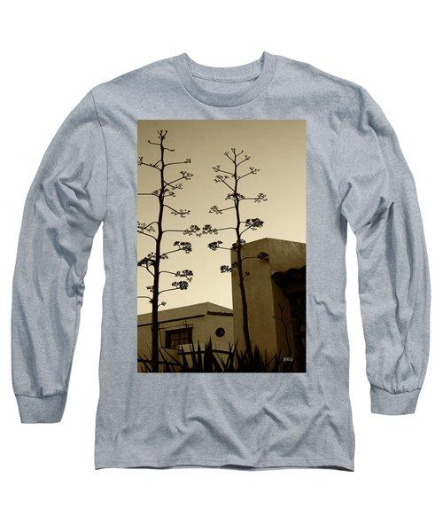 Sedona Series - Desert City Long Sleeve T-Shirt by Ben and Raisa Gertsberg