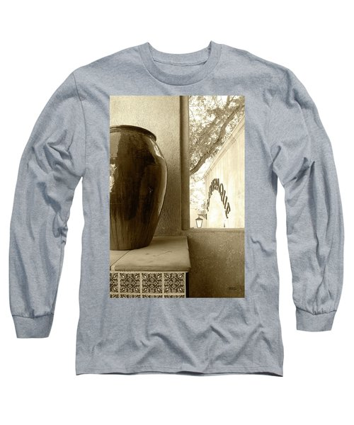 Long Sleeve T-Shirt featuring the photograph Sedona Series - Jug And Window by Ben and Raisa Gertsberg