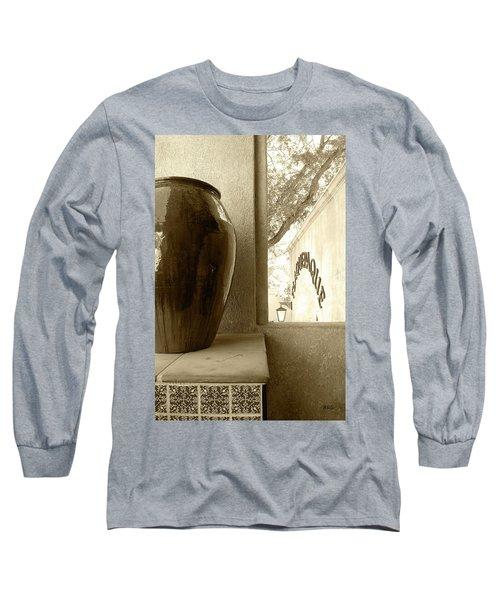 Sedona Series - Jug And Window Long Sleeve T-Shirt by Ben and Raisa Gertsberg