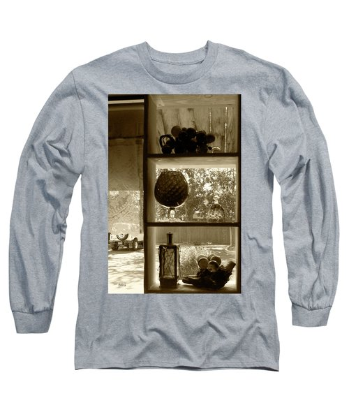 Long Sleeve T-Shirt featuring the photograph Sedona Series - Window Display by Ben and Raisa Gertsberg