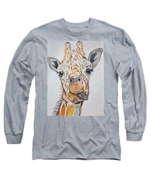 See My Tongue Long Sleeve T-Shirt