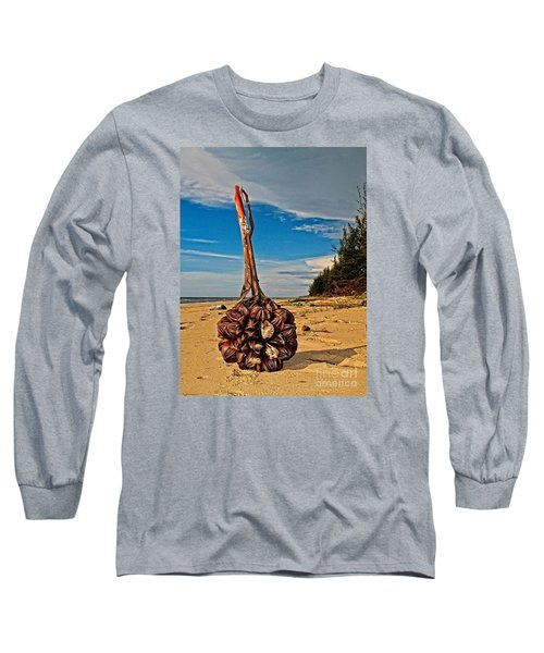 Long Sleeve T-Shirt featuring the photograph Seeds For The World by Gary Bridger