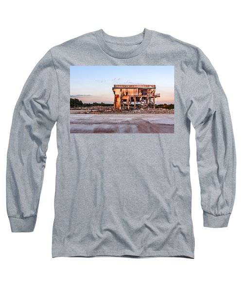 Long Sleeve T-Shirt featuring the photograph Seen Better Days by Nick Bywater