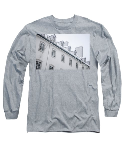 Seminary Of Quebec City In Old Town Long Sleeve T-Shirt