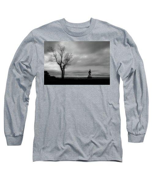 Senator Chafee And The Tree Long Sleeve T-Shirt