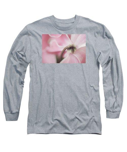 Sensuous Cyclamen Long Sleeve T-Shirt