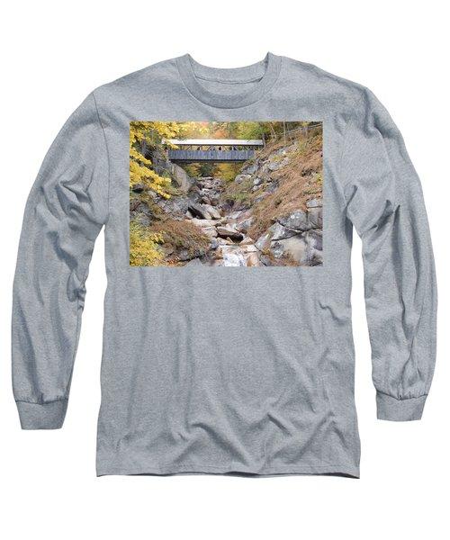 Sentinel Pine Covered Bridge Long Sleeve T-Shirt