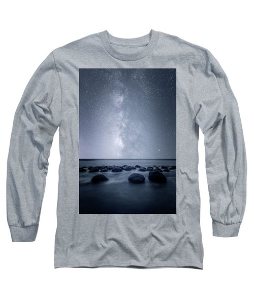 Septarian Concretions Long Sleeve T-Shirt by Dustin LeFevre