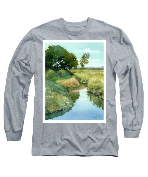 September Morning, Allen Creek Long Sleeve T-Shirt