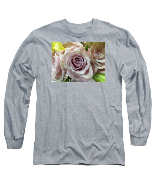 September Rose Long Sleeve T-Shirt by Russell Keating