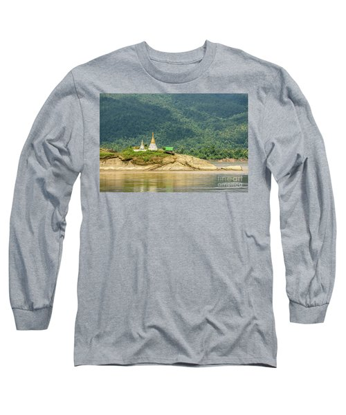 Long Sleeve T-Shirt featuring the photograph September by Werner Padarin