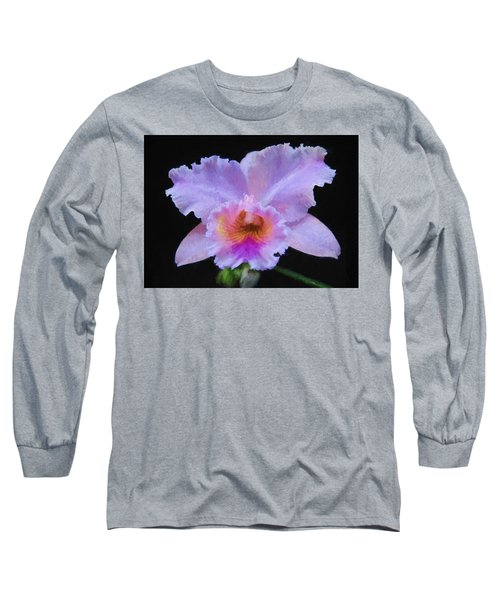 Serendipity Orchid Long Sleeve T-Shirt