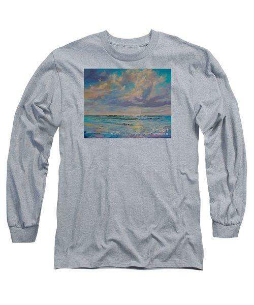 Serene Sea Long Sleeve T-Shirt by AnnaJo Vahle