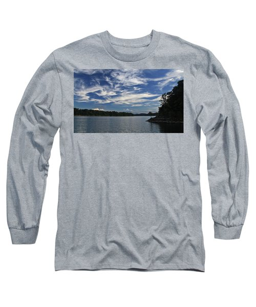 Serene Skies Long Sleeve T-Shirt by Gary Kaylor