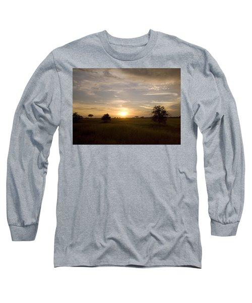 Serengeti Sunset Long Sleeve T-Shirt