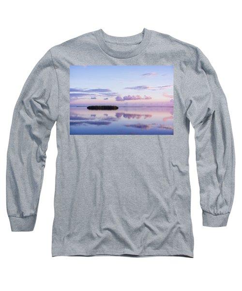 Serenity At Sunrise Long Sleeve T-Shirt