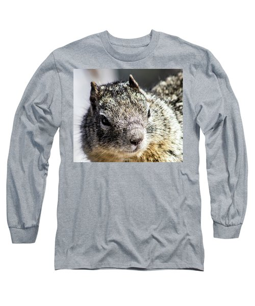 Serious Squirrel Long Sleeve T-Shirt