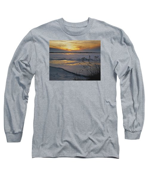 Setting Sun Long Sleeve T-Shirt by Judy Johnson