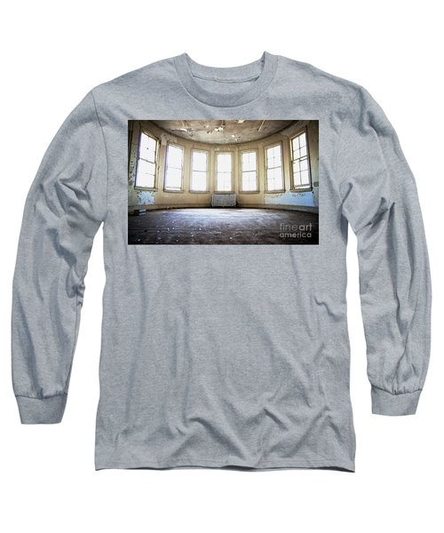 Long Sleeve T-Shirt featuring the photograph Seven Windows by Randall Cogle