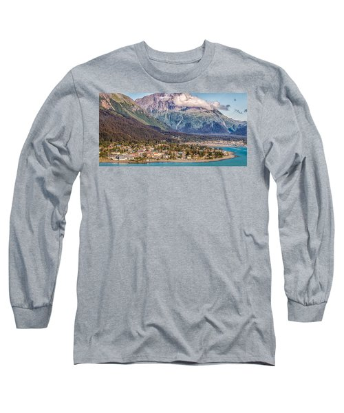 Long Sleeve T-Shirt featuring the photograph Seward Alaska by Michael Rogers