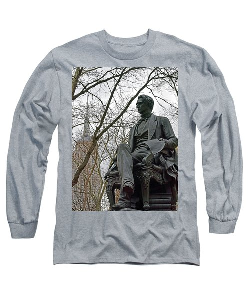 Seward And Empire State Long Sleeve T-Shirt by Sandy Taylor