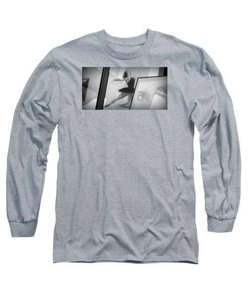Shades Of Black Long Sleeve T-Shirt