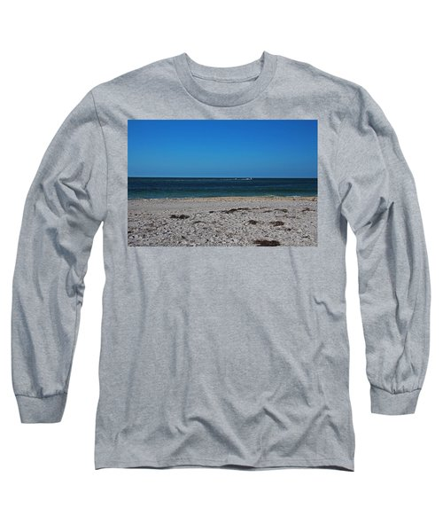 Long Sleeve T-Shirt featuring the photograph Shades Of Blue by Michiale Schneider