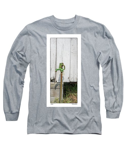 Shadow Long Sleeve T-Shirt by R Thomas Berner