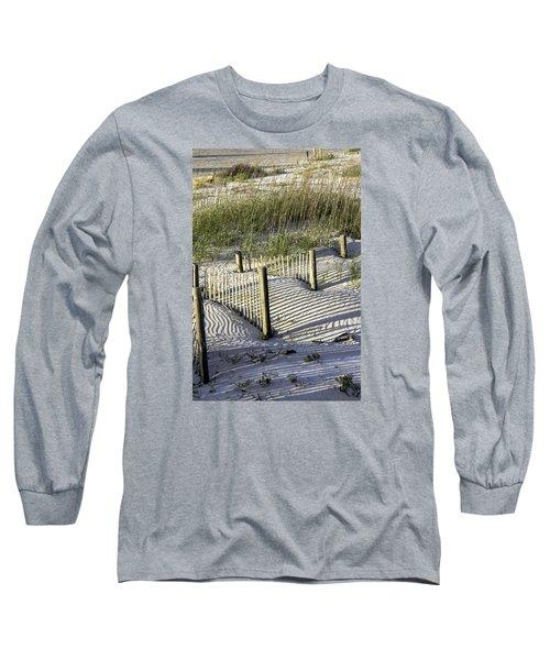 Shadows On The Dune Long Sleeve T-Shirt