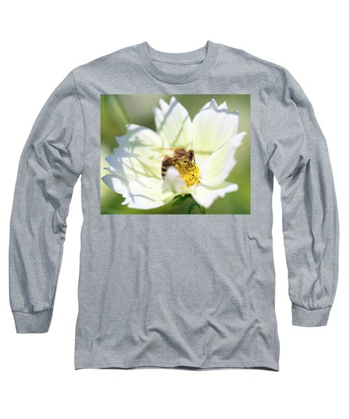 Long Sleeve T-Shirt featuring the photograph Shadowy Bee by Brian Hale