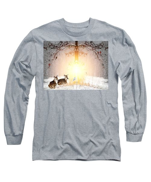 Shalom Long Sleeve T-Shirt by Bill Stephens