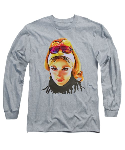 Sharon Marie Tate Long Sleeve T-Shirt by Sergey Lukashin