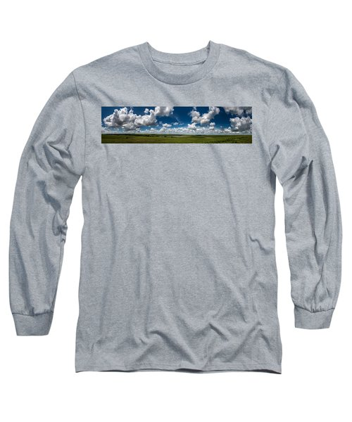 Sharps Creek Road Panorama Long Sleeve T-Shirt