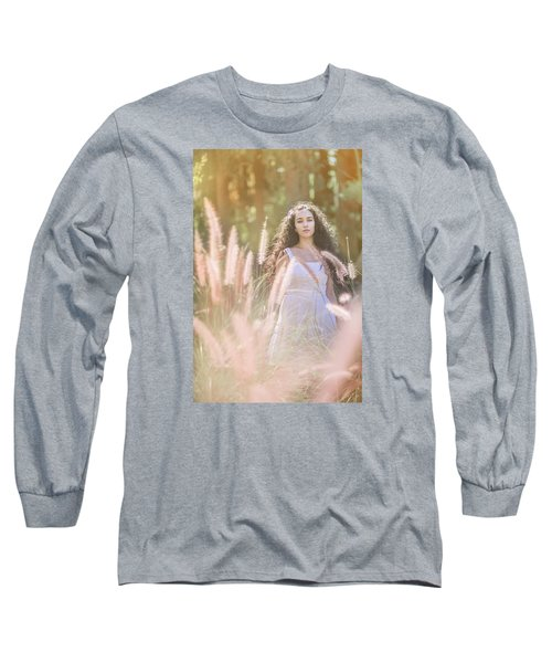 She Who Seeks Shall Find Long Sleeve T-Shirt