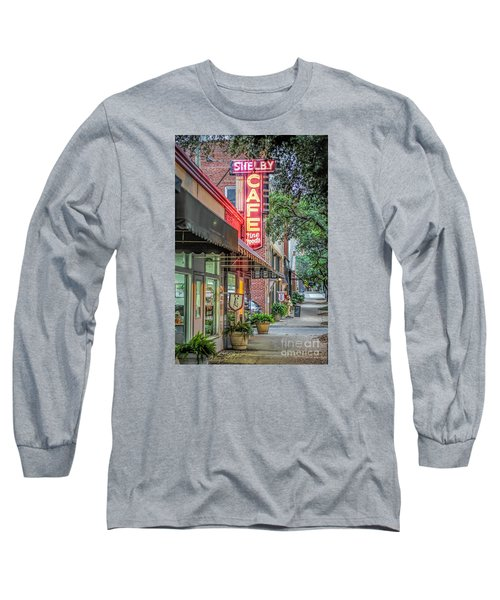 Shelby Cafe Long Sleeve T-Shirt by Marion Johnson