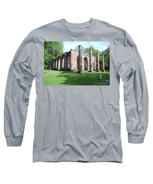 Sheldon Church 3 Long Sleeve T-Shirt by Gordon Mooneyhan