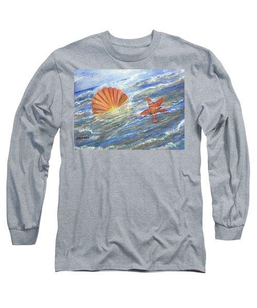 Shell Star  Long Sleeve T-Shirt