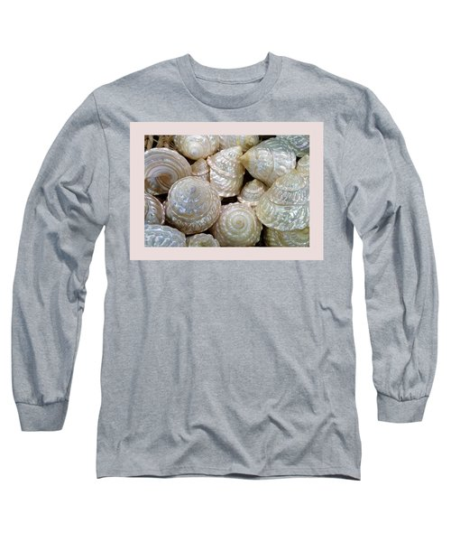 Shells - 4 Long Sleeve T-Shirt by Carla Parris