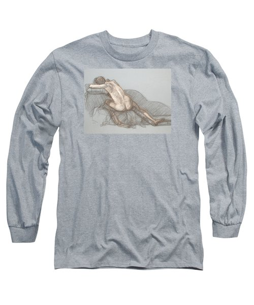 Shelly Back View Long Sleeve T-Shirt by Donelli  DiMaria