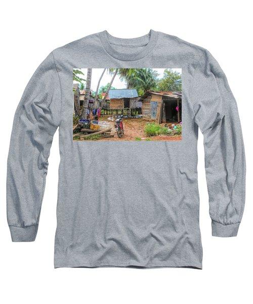 Shelter Home Cambodia Siem Reap I Long Sleeve T-Shirt