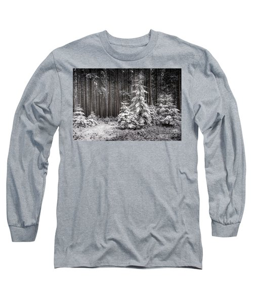 Long Sleeve T-Shirt featuring the photograph Sheltered Childhood by Hannes Cmarits