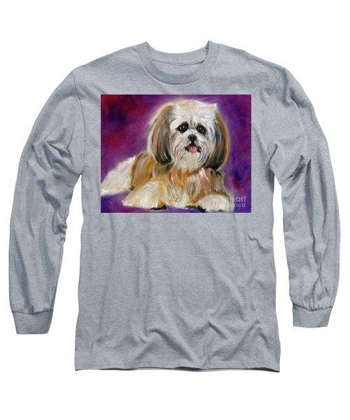 Shih-tzu Puppy Long Sleeve T-Shirt