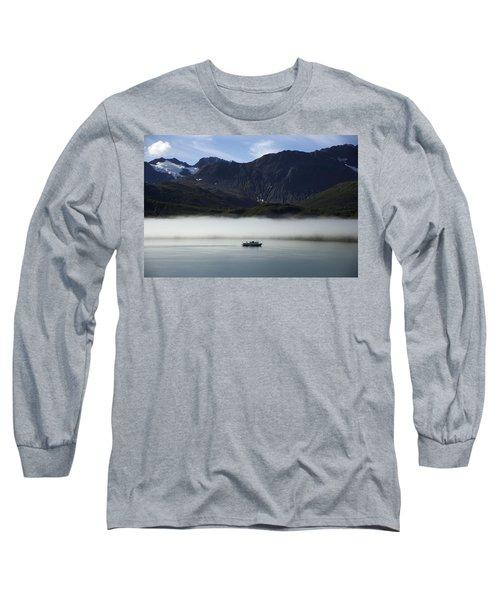 Ship In The Fog Long Sleeve T-Shirt