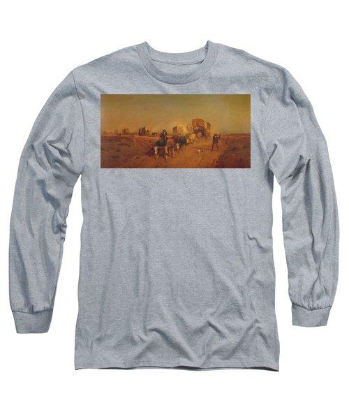 Ship Of The Plains Long Sleeve T-Shirt