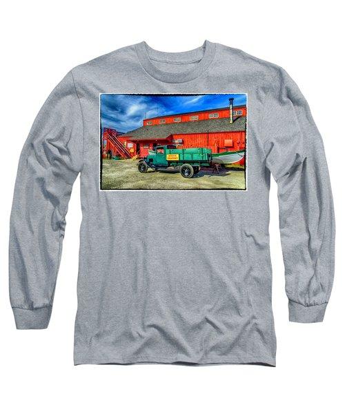 Shipyard Work Truck Long Sleeve T-Shirt